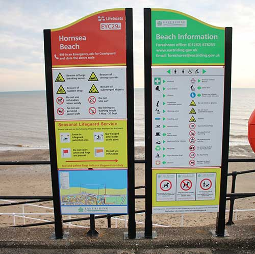 Monolith-vandal-proof-sign-hornsea-sea-front