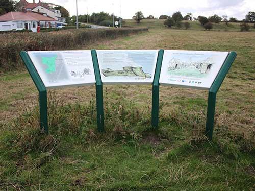 vandal-proof-sign-lectern-southorpe-village